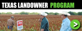 Texas Landowner Zero Cost Hog Control Program